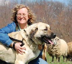 Jan Dohner and her Kangal Guardian